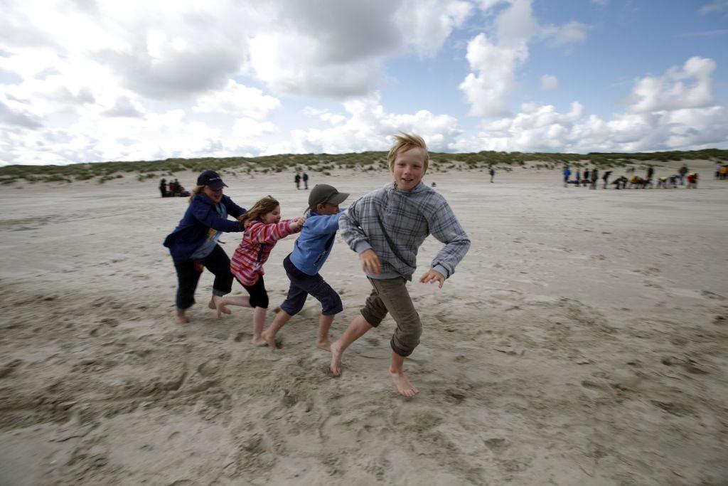 Spiel und Spaß beim Bundesweiten Junior-Ranger-Camp auf Langeoog 2011. (c) Arnold Morascher