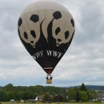 Heißluftballon WWF KCC