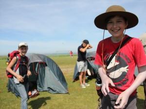Kinder beim Junior-Ranger-Entdeckercamp im Niedersächsichen Wattenmeer 2013