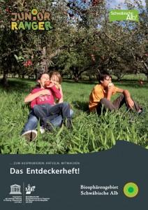 Entdeckerheft Biosphärengebiet Schwäbische Alb