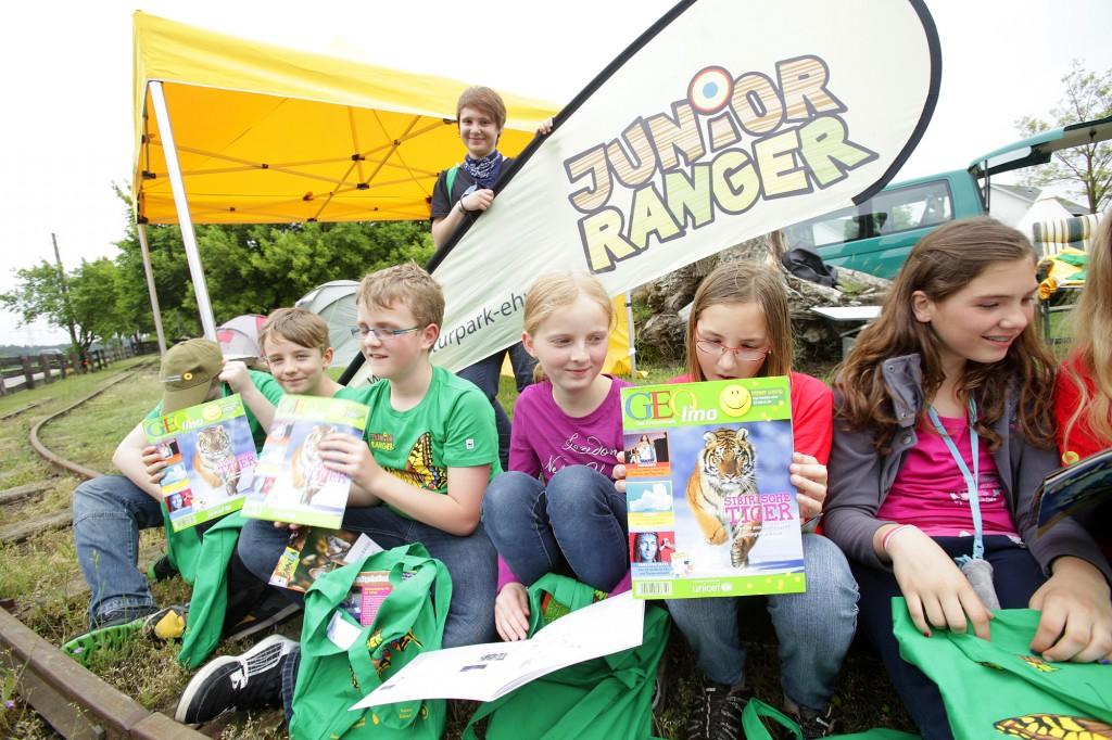 Junior Ranger und GEOlino - ein gutes Team!