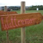 Pfeil Wattenmeer
