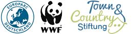 Logos der Junior-Ranger-Ausrichter | EUROPARC Deutschland e.V. und WWF Deutschland